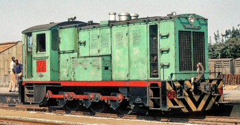 Benguela Railway locomotive D3