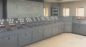 Control panel at Deephams