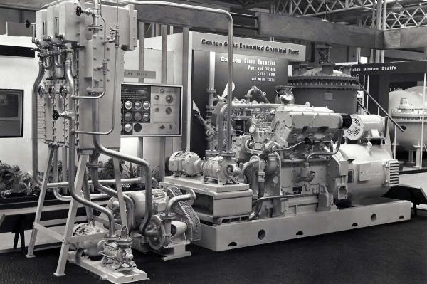 Paxman Flash Evaporation plant at 1962 exhibition