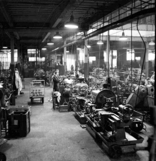 The Machine Shop at Howard's Weybridge Works