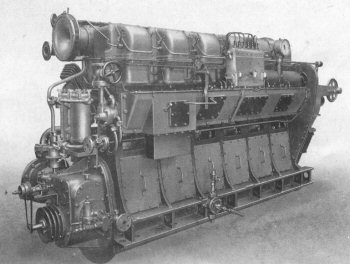 6-cylinder RPL engine