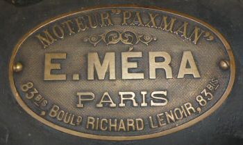 Emil Mera agent's plate