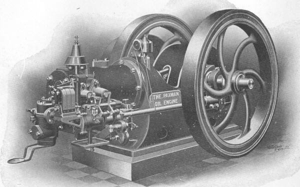 20 bhp Paxman Oil Engine c.1905